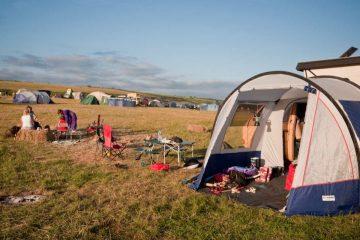 Expérience du camping en fin septembre