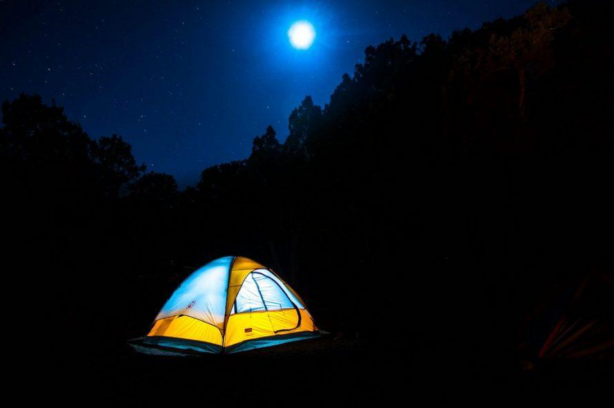 Camper en fin septembre avec les enfrants