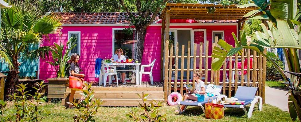 Le camping Port Pothuau à Hyères dans le Var