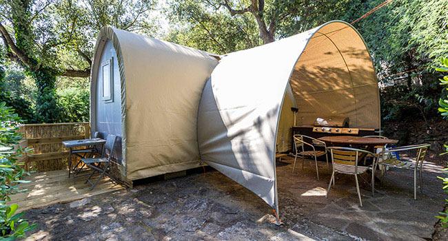 camping vers saint tropez