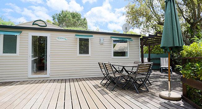 Vacances de luxe au camping Parc Montana à St Tropez